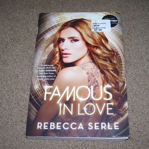 New FAMOUS In LOVE by Rebecca Serle Paperback BOOK